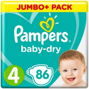 UK Pampers 4