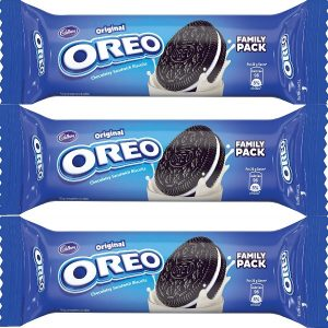 Cadbury Original Oreo Chocolatey Sandwich Biscuits Vanilla Creme
