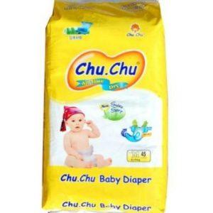 Chu Chu Diapers Medium (6-11kg) – 45pcs