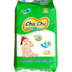 Chu Chu Diapers Small (3-7kg) – 45pcs