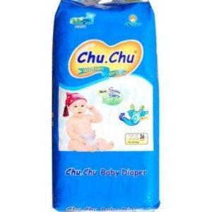 Chu Chu Diapers XL (12-24kg) – 36pcs