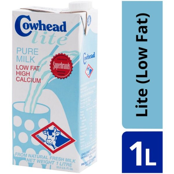 Cowhead Lite Pure Milk UHT