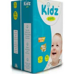 Kidz Pants Ultra Thin Diapers XL (12-18kg) – 56 pcs