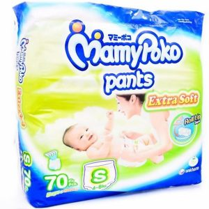 MamyPoko Pants Small (4-8kg) – 70pcs