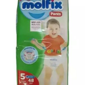 Molfix Pants 5 Junior/XL (11-18kg) – 48 pcs