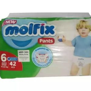 Molfix Pants 6 Extra Large/XXL (15-22kg) – 42 pcs