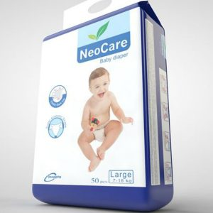 NeoCare Diapers Large (7-18kg) – 50pcs