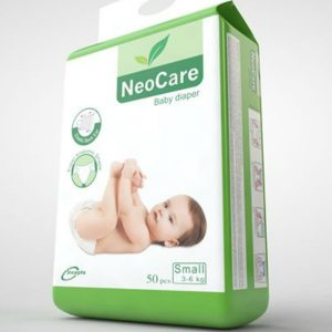 NeoCare Diapers Small (3-6kg) – 50pcs