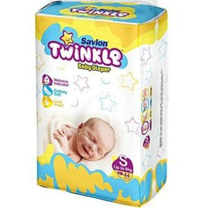 Savlon Twinkle Diapers Small (up to 8kg) – 44pcs