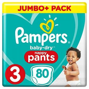 Pampers Pants 3 (6-11kg) – 80pcs