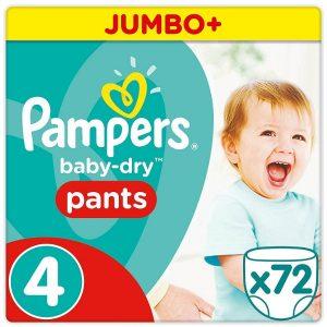 Pampers Pants 4 (9-15kg) – 72pcs