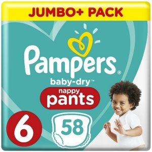 Pampers Pants 6 (16+kg) – 58pcs