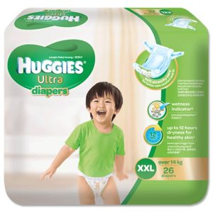 Huggies Ultra Diapers XXL (Over 14 kg) – 26pcs