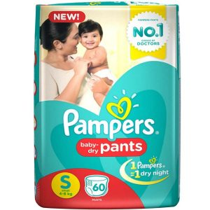 Pampers Pants Small (4-8 kg) – 60pcs