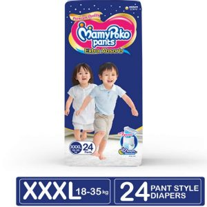 MamyPoko Pants Diapers XXXL (18-35kg) – 24 pcs