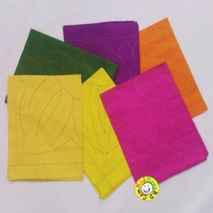 Katha for Newborn Baby Multicolour – 6 pcs