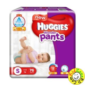 Huggies Wonder Pants Small (4-8 kg) – 76pcs