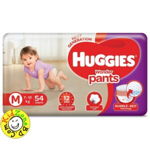 Huggies Wonder Pants Medium (7-12 kg) – 54pcs