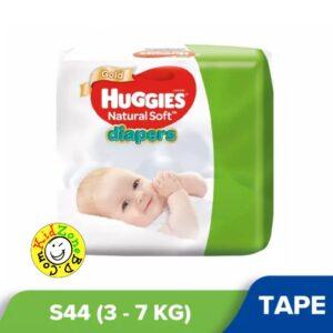 Huggies Natural Soft Diapers Small (3-7 kg) – 44pcs
