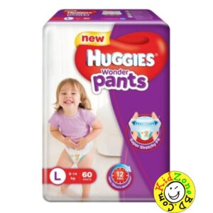 Huggies Wonder Pants Large (9-14 kg) – 60pcs